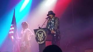 Kid Rock-senate speech and You never met a motherfucker quite like me