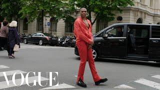 Inside Russell Westbrook's Pregame for the Louis Vuitton Men's Show in Paris   Vogue