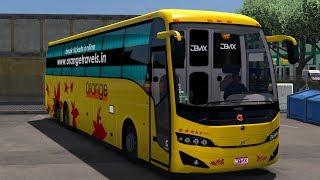 🔸Jabbar Travels Volvo B11R Experienced Driver |ETS 2 INDIA