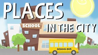 Places in a city - English Educational Videos | Little Smart Planet