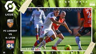 Lorient 1 - 1 Olympique Lyon - HIGHLIGHTS & GOALS - 9/27/2020