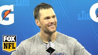 Watch Tom Brady's postgame Super Bowl LIII press conference | FOX NFL