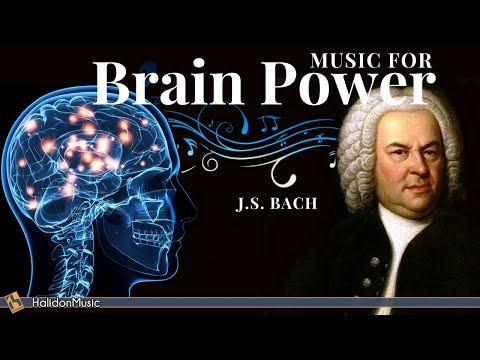 Classical Music for Brain Power - Bach