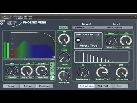Reverb 101 with PhoenixVerb