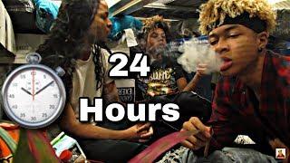 SMOKING BLACKS IN WALMART | ULTIMATE 24 HOUR PILLOW FORT!!!