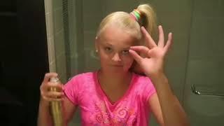 jojo siwa dEsTroYing her hair for 3 mins