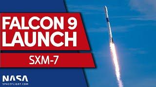 SCRUB: SpaceX Scrubs SXM-7 Mission on Falcon 9