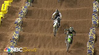 Supercross Round #6 in San Diego   250SX EXTENDED HIGHLIGHTS   Motorsports on NBC