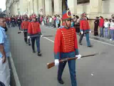 Bogota, Palacio de Nariño - Cambio de Guardia