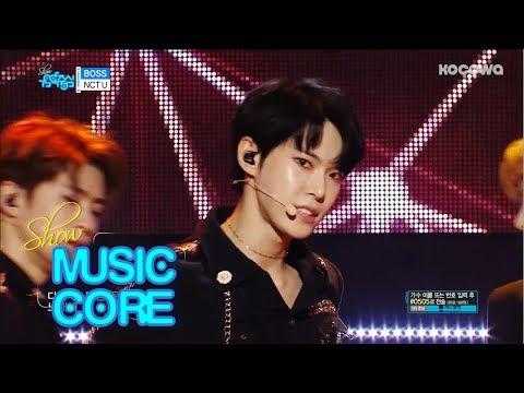 NCT U - Boss [Show Music Core Ep 579]