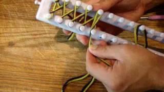 How to Loom Knit: Twisted Knit Stitch