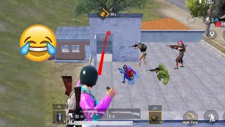 Trolling Noobs From Behind 🤣😅 | PUBG MOBILE FUNNY MOMENTS