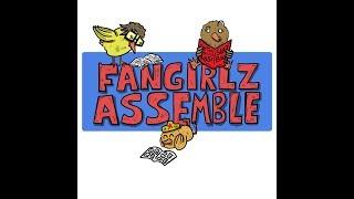 FANGIRLZ ASSEMBLE LIVE! Episode 3 - SO MANY COMICZZZZ, NOT ENOUGH TIME!
