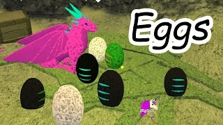 A Baby Is Born - Dragon Eggs & Horse Heart Let's Play Online Roblox Horses Game
