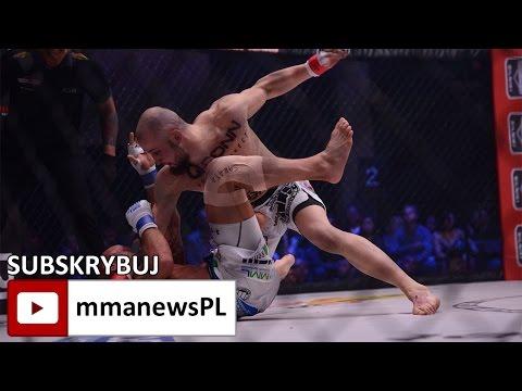 KSW 38: Artur Sowinski zadusił Chlewickiego w 1 rundzie (+video)
