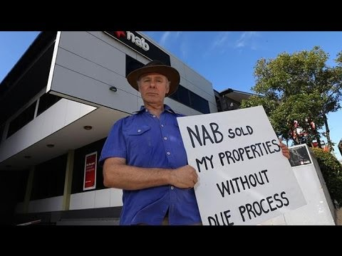 NAB Fraud Protest Paul Herman