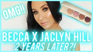 BECCA x JACLYN HILL CHAMPAGNE EYESHADOW PALETTE BEING SOLD TWO YEARS LATER!!