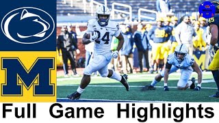 Penn State vs Michigan Highlights | College Football Week 13 | 2020 College Football Highlights