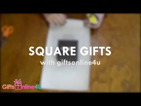 How To: Wrap a Box Gift | GiftsOnline4U