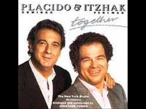 Itzhak Perlman & Placido Domingo
