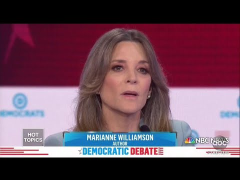 Marianne Williamson's Debate New Zealand Moment Goes Viral | The View