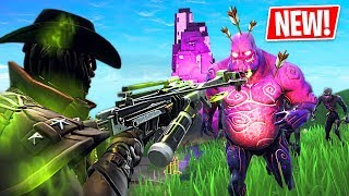 Fortnite Halloween Update 2018!! *NEW* Zombies, Skins, Crossbow, Revolver, Pumpkin Launcher & More!