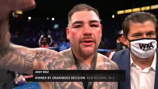 Andy Ruiz Jr vs Chris Arreola Highlights HD 1st May 2021