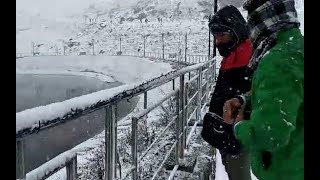 Watch Video: heavy snowfall in auli