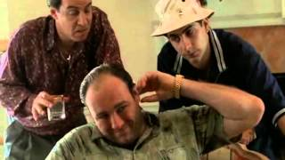 Junior And Livia Visiting Tony After A Failed Assassination Attempt - The Sopranos HD