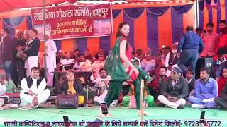 Bindas Chori_ New Dance Song by Sonam Choudhary || Live Shaphur Gaushala Competition