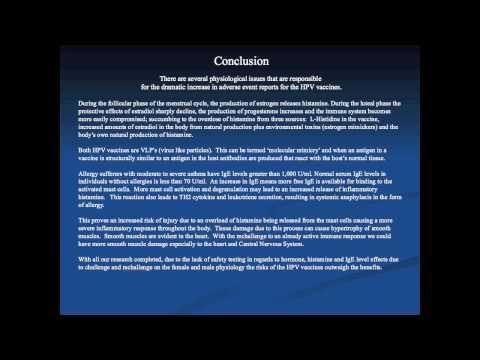 YouTube- Global Parental Concerns Regarding Safety and Efficacy of Gardasil and Cervarix part 7/7