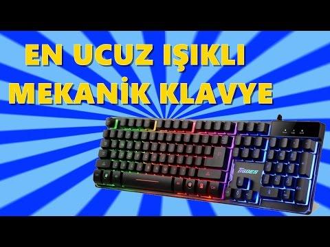 En Ucuz Işıklı Klavye | Tigoes K9