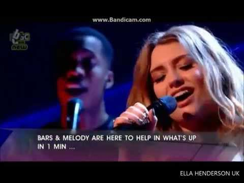 Ella Henderson - Ghost. Live on CBBC (Friday Download) 06/06/14