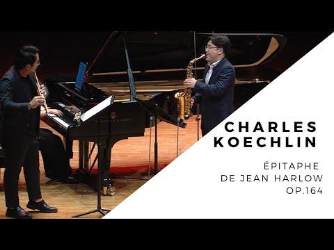Charles Koechlin - Épitaphe de Jean Harlow, Op.164 (flute, alto saxophone, piano)