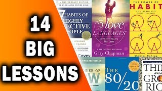 14 Best Lessons from 341 Books