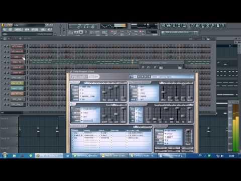 пародия DJ Vengerov - Intro Kazantip 2010 в FL Studio