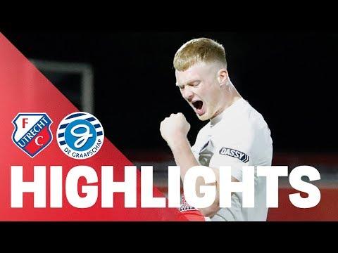 HIGHLIGHTS   Jong FC Utrecht - De Graafschap