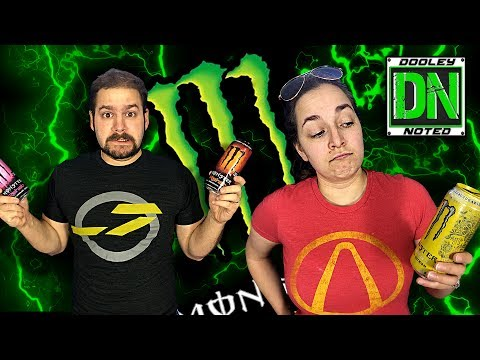Monster Taste Test | THE DOOLEY NOTED SHOW