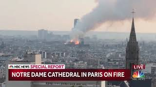 Notre Dame Fire NBC News Special Report Open