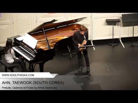 Dinant 2014 - AHN, Taewook (Prelude, Cadence et Finale by Alfred Desenclos)