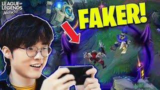 FAKER HERE! - WILD RIFT FUNNY & WTF MOMENTS - LOL WILD RIFT Highlights