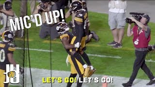 JuJu Smith-Schuster Mic'd Up - Steelers Bengals Highlights