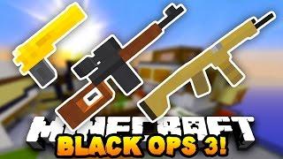 Black Ops 3 in MINECRAFT! (Flan's Gun Mod) | w/ PrestonPlayz & BajanCanadian & Woofless
