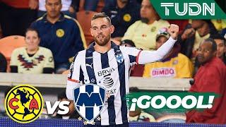 ¡Goool! Janssen hace pedazos a la defensa de América América 1 - 2 Monterrey | Partido Amistoso | TU