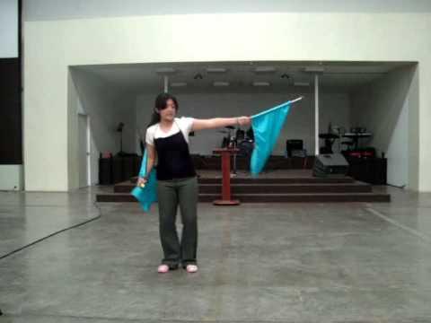 RUTINA DE BANDERAS:JUBILO.wmv