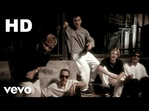 Backstreet Boys - Quit Playing Games (With My Heart)