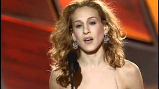 Sarah Jessica Parker Wins Best Actress TV Series Musical or Comedy - Golden Globes 2000