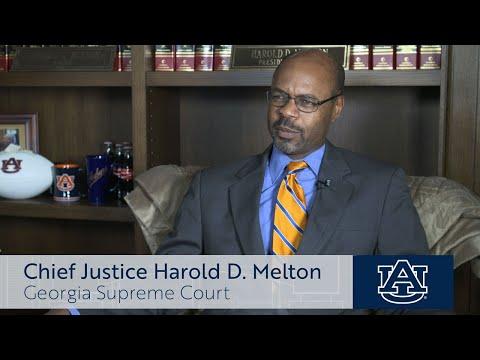 Auburn University names Student Center for Justice Harold D. Melton