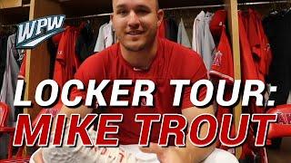 Locker Tour: Mike Trout
