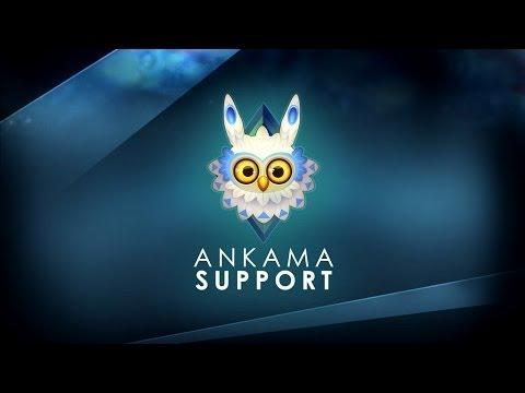 Ankama Support : Première utilisation du site - YouTube